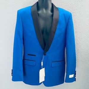 Ferrecci RENO Royal Blue ShawlCollar Tuxedo Blazer
